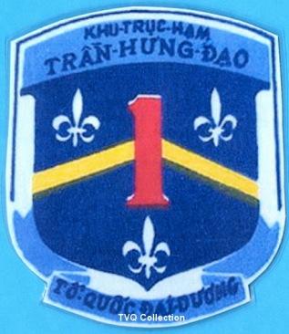 Huy hieu Khu truc ham Tran Hung Dao HQ1. TVQ Collection
