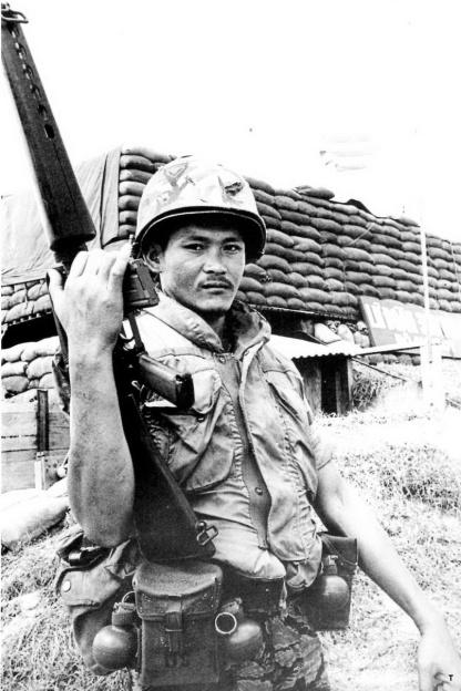 Bo chi huy lu doan 369 tai Quang Tri nam 1972