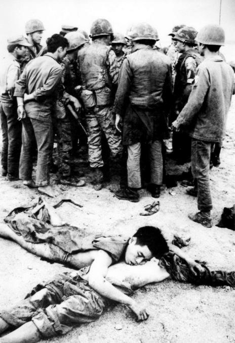 Dac cong VC bi TQLC ban chet tai Quang Tri nam 1972
