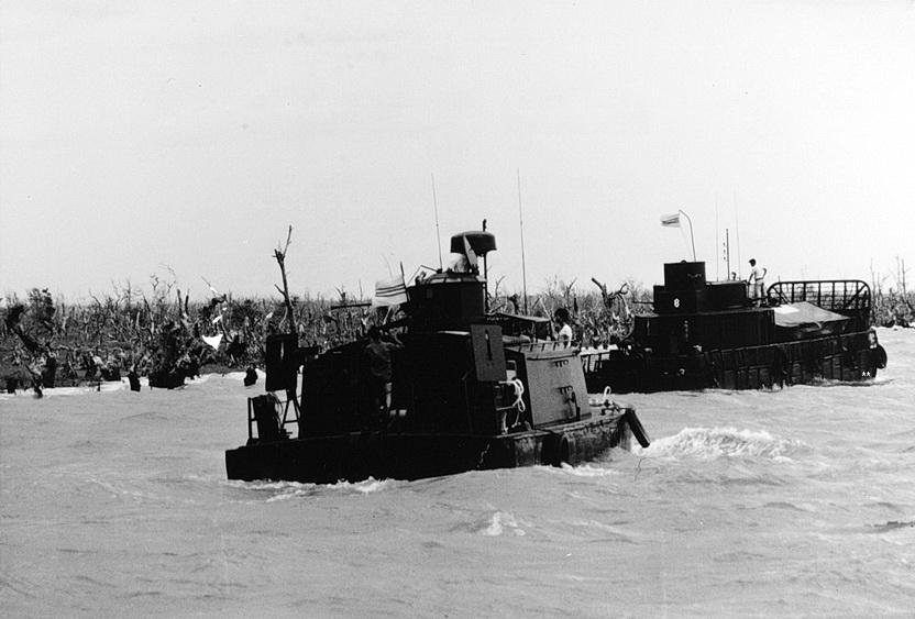 Lược sử HQVNCH: Lực-Lượng Thủy-bộ (Lực-Lượng Đặc-nhiệm 211) – Bến xưa