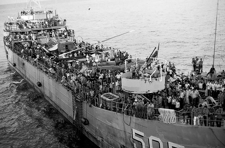 Điệp Mỹ Linh: Hải-Quân Việt-Nam Cộng-Hòa Ra Khơi, 1975 – Chuyến Ra Khơi Bi  Hùng – dòng sông cũ